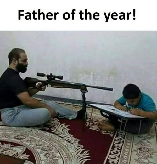Father of the Year Funny Meme