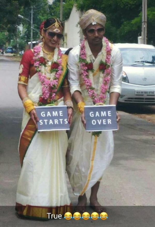 Marriage Game Starts Game Over