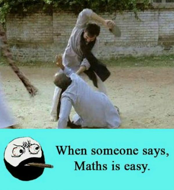 Maths is easy Funny Meme