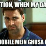 My Reaction When Dad Says Funny Indian Meme