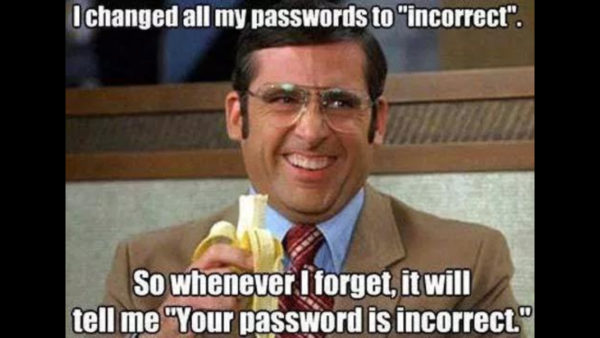 Password Incorrect Funny Meme