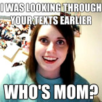 Who's Mom? Funny Meme