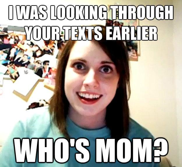 Whos Mom Funny Meme
